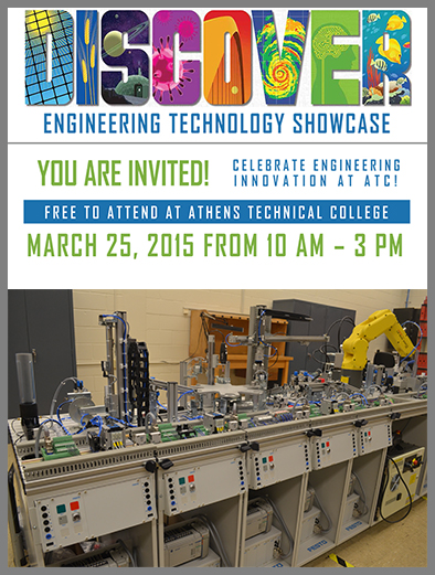 Engineering Technology to Host Open House March 25 graphic